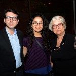 Marcus Campo, do Grupo Trend, Marina Silveira e Maria Helena Michieletto, da MH Tour