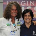 Mari Masgrau, do M&E, e Marcia Galvão, da NCL