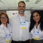 Monica Costa, Leandro Horta e Thalita Alamo, da Visual