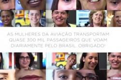 Abear faz homenageia às mulheres da aviação nacional; veja o vídeo