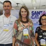 Nagel Mello, Ana Cristina e Marilene Carvalho, de Santa Catarina