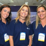Natalia Marques, Jaqueline Messina e Paula Sperle, da MSC