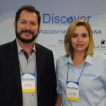 Pablo Zabala e Juciara Evangelista, da Discover