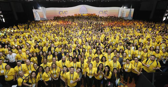 Participantes da Convenção CVC 2018