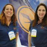 Patricia Fusaro e Andrea Cox, da Lufthansa