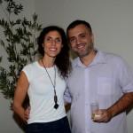 Paula Bilenky, da Venturas, e Samuel Ramos, da TGK Travel