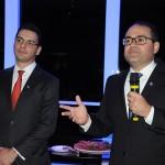 Rafael Menna, vice presidente, e Roberto Bertino, presidente da Nobile