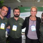Ricardo Delfin, Marco Marra, Vanessa Motta e Ana Luiza Leal, do Litoral Verde
