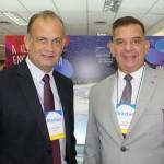 Ricardo Fazzini, secretário de Turismo, e Luis Maio, de Ilhabela