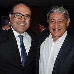 Roberto Bertino, presidente da Nobile, com Mario Albuquerque, gerente do Gran Nobile RJ Barra
