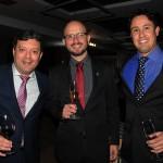 Rodrigo Castro, Thiago Fonseca e Paulo Henrique, da Nobile