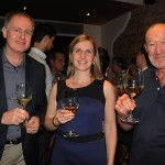 Rudolfo Lang, Ingrid Friz-Frizberg e Peter Fuerlinger, de Vienna