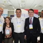 Sergio Leoneti, Melissa Amorim, Anderson Marques, Gelson Popazoglo e Walter Braga, da GTA
