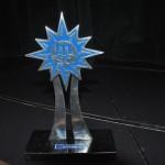 Troféu recebido pelos vencedores