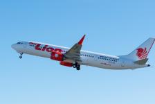 Boeing entrega o 1° B737 MAX 9 ao Grupo Lion Air