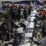 Vista dos corredores do ECB Rio