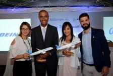 Veja fotos do evento da Air Europa em São Paulo