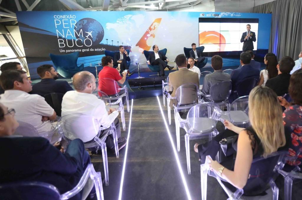 Evento foi realizado no Aeroporto Internacional do Recife/Guararapes (Foto: Hesíodo Góes/Seturel-PE)