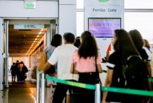 Índice de satisfação dos aeroportos brasileiros cresce 14% desde 2013