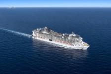 MSC Cruzeiros suspenderá operações no Mediterrâneo após restrições na Itália