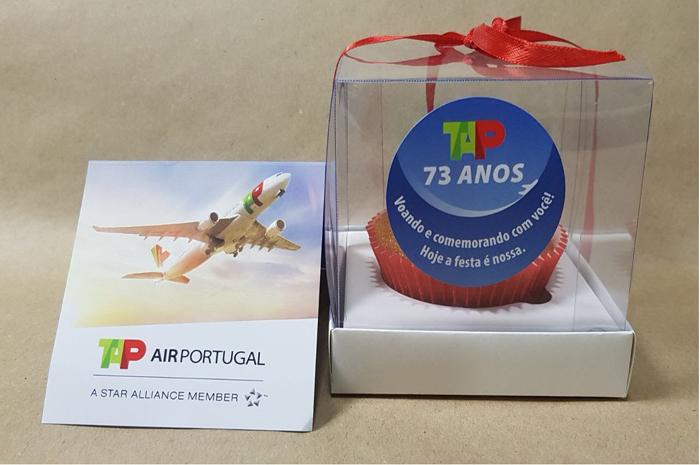 TAP comemora 73 anos com ações com passageiros em voos