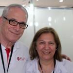 Abel Ferreira e Terezinha Ferreira, da Flot Operadora