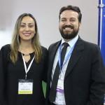 Adriana Paiva, da Nobile, e Ciro Malherbi Junior, do Wyndham Foz Iguaçu