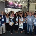 Agentes de viagens chegando no segundo dia de Aviesp Expo