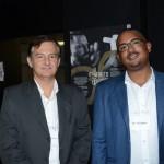 Alexandre Ferreira, da GIG, e Jorrell Kemp, da Amadeus