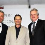 Alexandre Sampaio, Alain Baldacci e Edmar Bull