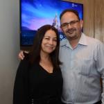Ana Maria Fernandes e Fabiano Souza, da Maringá Turismo