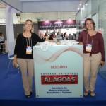 Ana Paula Azevedo, da Setur-Alagoas, e Graziella fritscher, da Semtur-Maceió