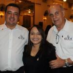 Anderson Marques, Melissa Amorim e Sérgio Leoneti, da GTA