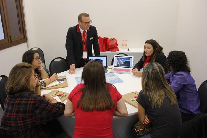 Agentes realizaram workshops de 27 minutos com Swiss Air Lines, Swiss Travel System e destinos suíços.