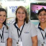 Andressa Machado,Natalia Allegre e Alessandra Calhau do complexo Termas de Jurema