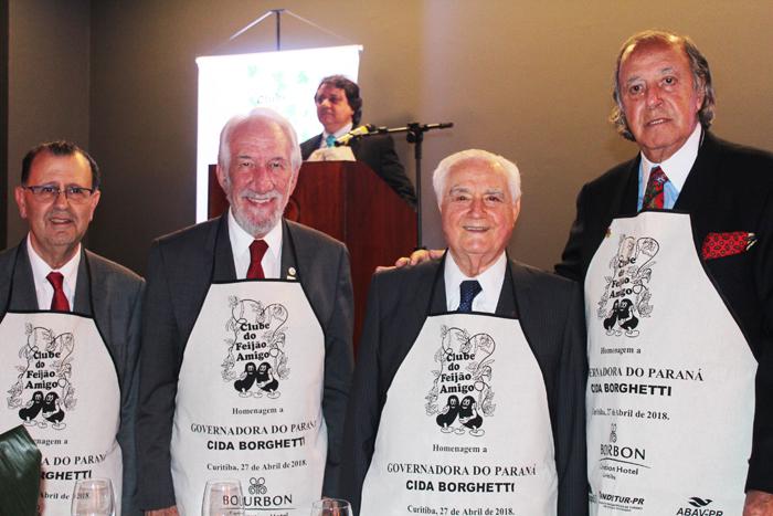 Antonio Azevedo, Darci Pina, Alceu Vezzozo e Michel Tuma Ness