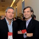 Armando Ramirez, da Wyndham, e Luis Mirabelli, da Casa Campus