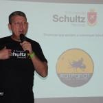 Aroldo Schultz, presidente da Schultz, na abertura da rodada de negócios
