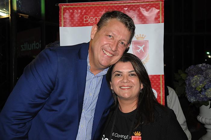 Aroldo Schultz, presidente, e Ana Maria Santana, diretora da Schultz no Brasil_galeria