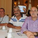 Ary Lima e Robson Costa, do Roteiro dos Sonhos, com Rubens Fernandes, da JCM Tur