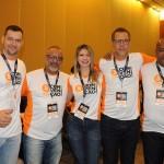 Belmar Jr (RS), Rogério Gomes (RJ), Valéria Pereira (SP), Nilton Silva (BA) e Gelder Carvalho (SP), da Affinity