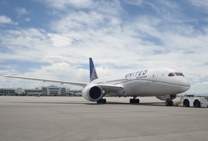 Boeing 787 da United