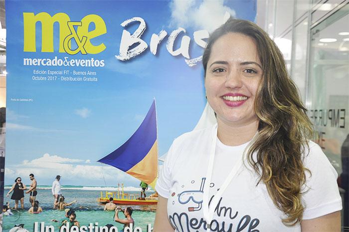 Brenda Silveira, diretora executiva do Porto de Galinhas CVB