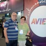 Carlos Martella e Antonieta Martella, da Allegro Turismo