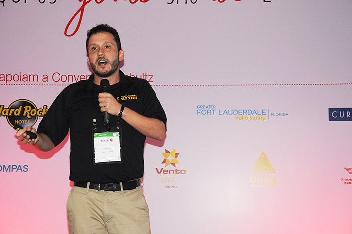 Cauê Castro, representante do Greater Fort Lauderdale CVB no Brasil