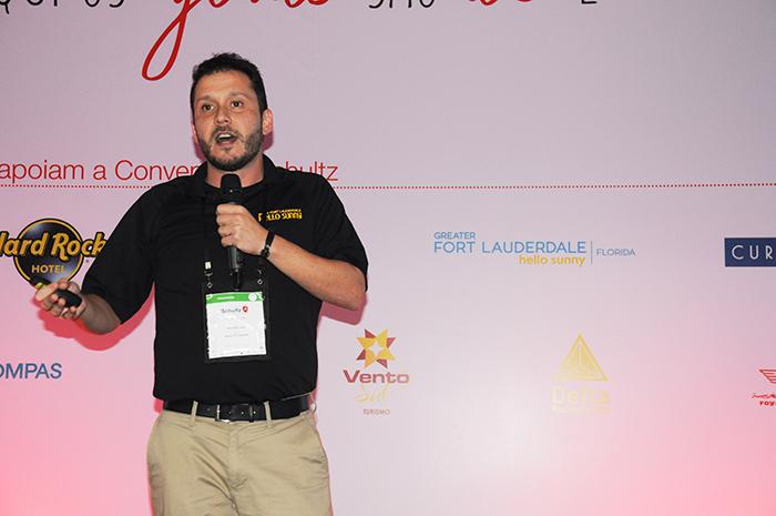 Cauê Castro, representante do Greater Fort Lauderdale CVB no Brasil