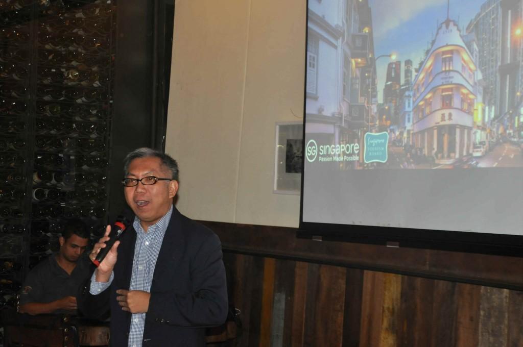 Chang Chee Pey, Assistente Chefe Executivo da Singapore Tourism Board