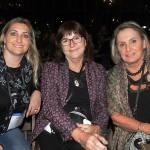 Cintia Duso, Teresinha Haas, da Zeppelin, e Marialice Schafer, da Schafer Turismo