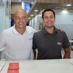 Cristiano Ferri e Douglas Araujo, da Turkish Airlines