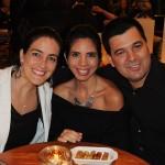Cristina Garcez, Thayane Tavares, da Thay Turismo, e Luciano Bonfim, da Schultz